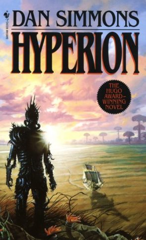 Book cover: Hyperion - Dan Simmons