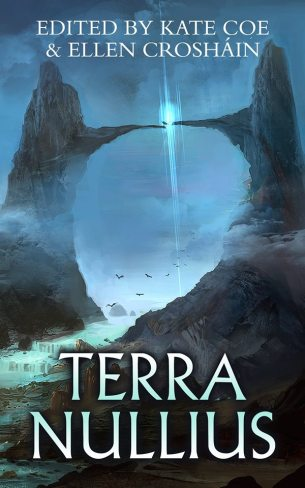 Book cover: Terra Nullius - edited by Kate Coe & Ellen Croshain