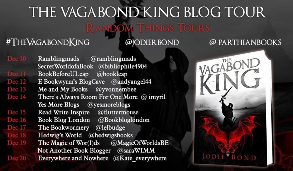Details of The Vagabond King blog tour