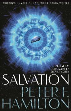 Book cover: Salvation - Peter F Hamilton