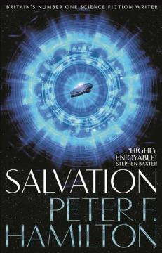 Book cover: Salvation - Peter F Hamilton