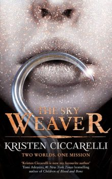 Book cover: The Sky Weaver - Kristen Ciccarelli