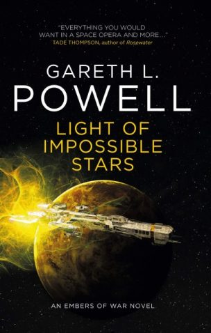 Book cover: Light of Impossible Stars - Gareth L Powell