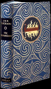Book cover: The Silmarillion - JRR Tolkien - Folio Society hardback