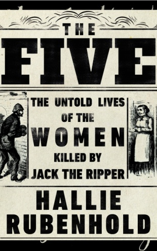 Book cover: The Five - Hallie Rubenhold