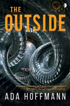 Book cover: The Outside - Ada Hoffman