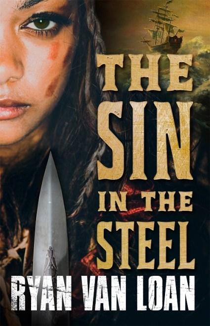 Book cover: The Sin in the Steel - Ryan van Loan