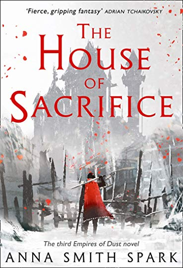 Book cover: The House of Sacrifice - Anna Smith Spark