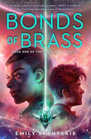 Book cover: Bonds of Brass - Emily Skrutskie