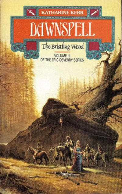 Book cover: Dawnspell - Katharine Kerr