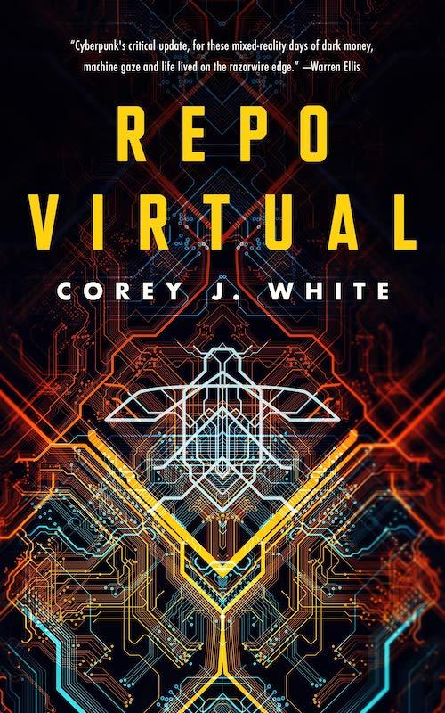Book cover: Repo Virtual - Corey J White