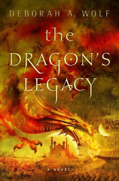 Book cover: The Dragon's Legacy - Deborah A Wolf