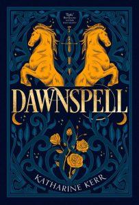 Book cover: Dawnspell - Katharine Kerr (2019 rerelease)