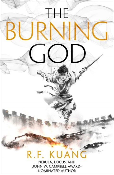 Book cover: The Burning God - R F Kuang