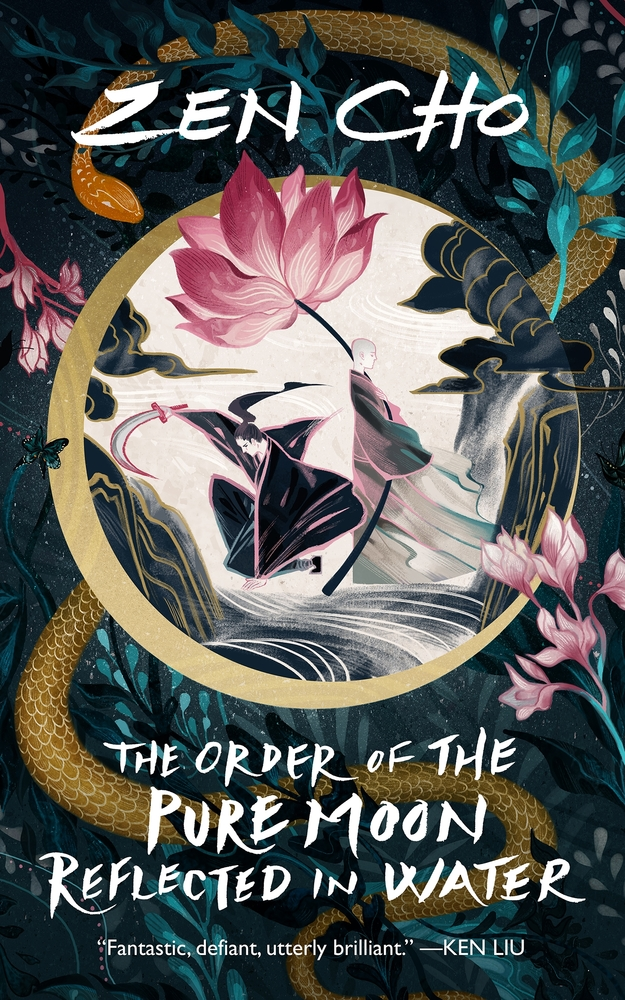 Book cover: The Order of the Pure Moon Reflected in Water - Zen Cho