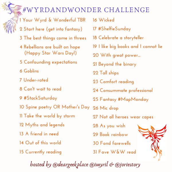 Wyrd and Wonder Challenge 2020