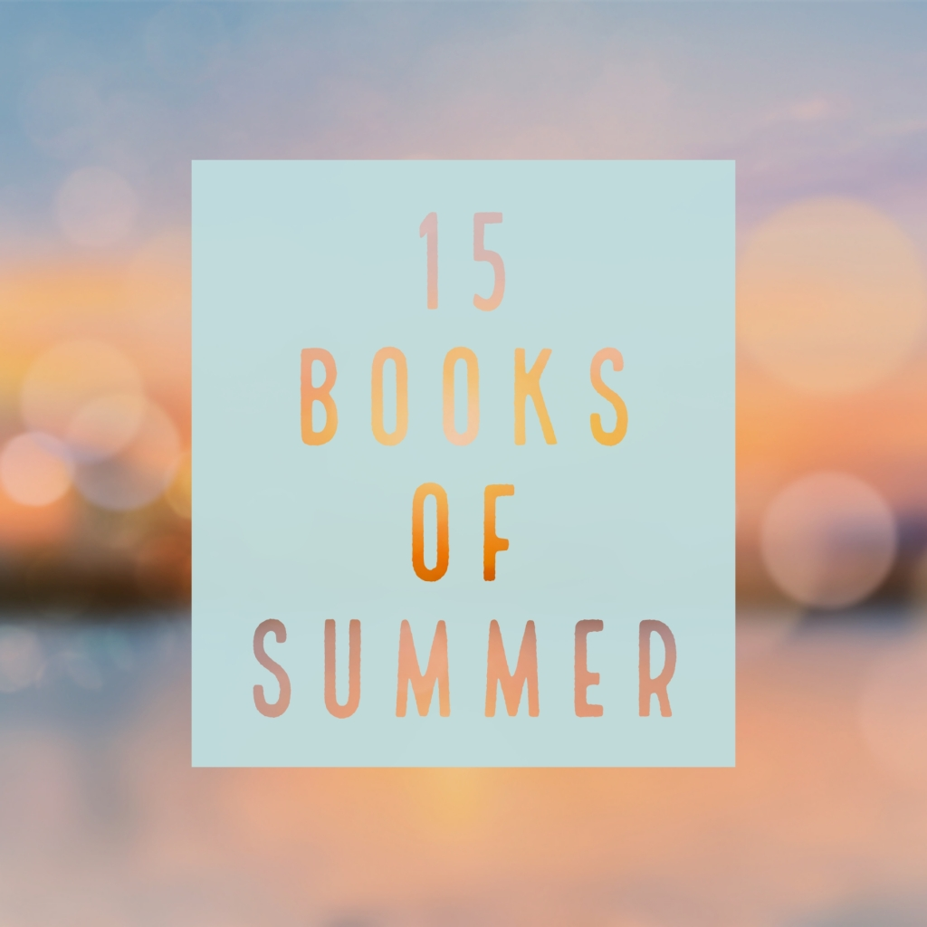 Banner text: 15 Books of Summer