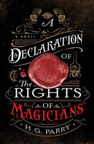 Book cover: A Declaration of the Rights of Magicians - Uriah Heep