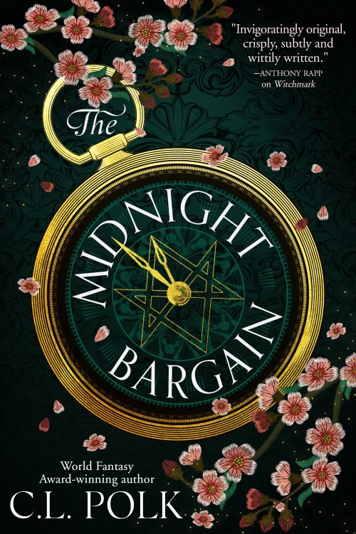 Book cover: The Midnight Bargain - CL Polk