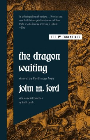 Book cover: The Dragon Waiting - John M Ford