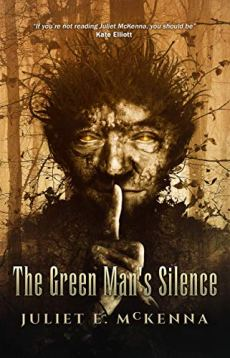 Book cover: The Green Man's Silence - Juliet McKenna