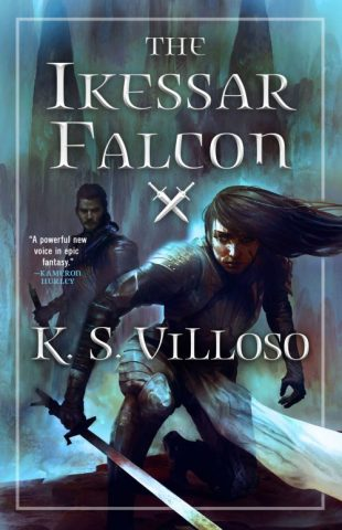 Book cover: The Ikessar Falcon - K S Villoso