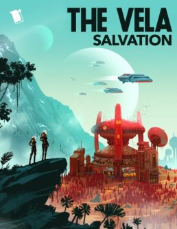 Serial Box cover: The Vela Season Two - Salvation