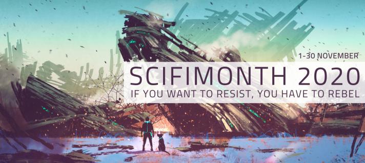 SciFi Month banner