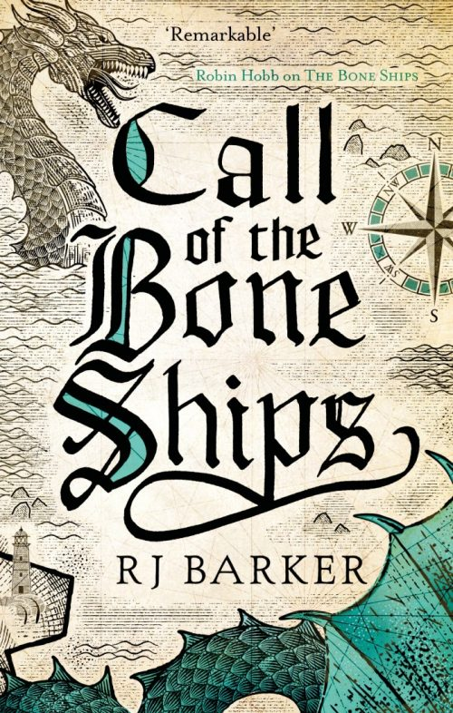 Book cover: The Call of the Bone Ships - RJ Barker