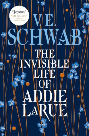 Book cover: The Invisible Life of Addie LaRue - V E Schwab
