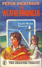 Book cover: The Weathermonger - Peter Dickinson