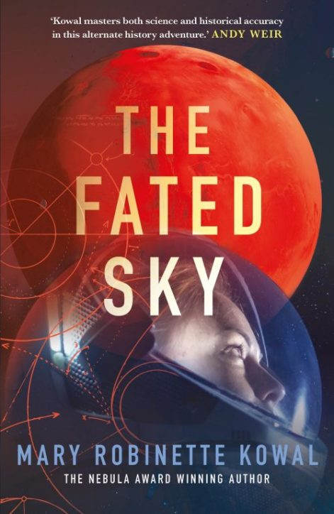 Book cover: The Fated Sky - Mary Robinette Kowal