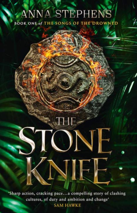 Book cover: The Stone Knife - Anna Stephens