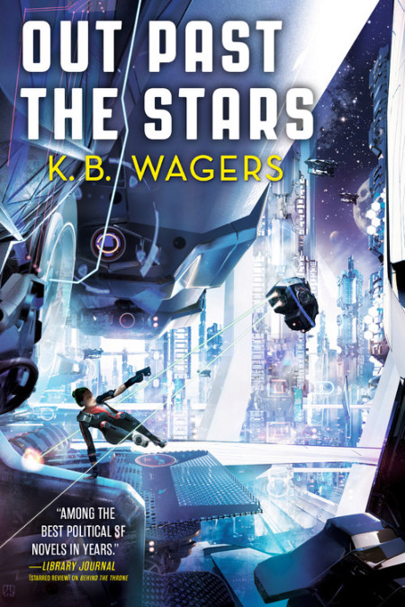 Book cover: Out Past The Stars - KB Wagers