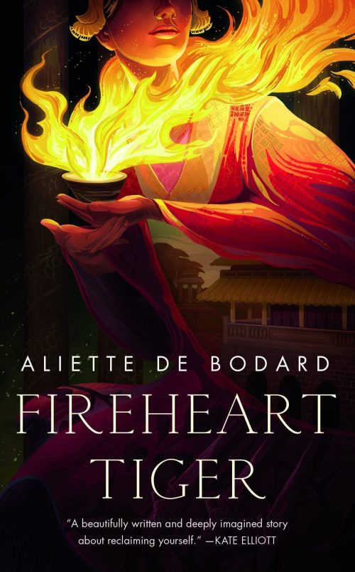 Book cover: Fireheart Tiger - Aliette de Bodard