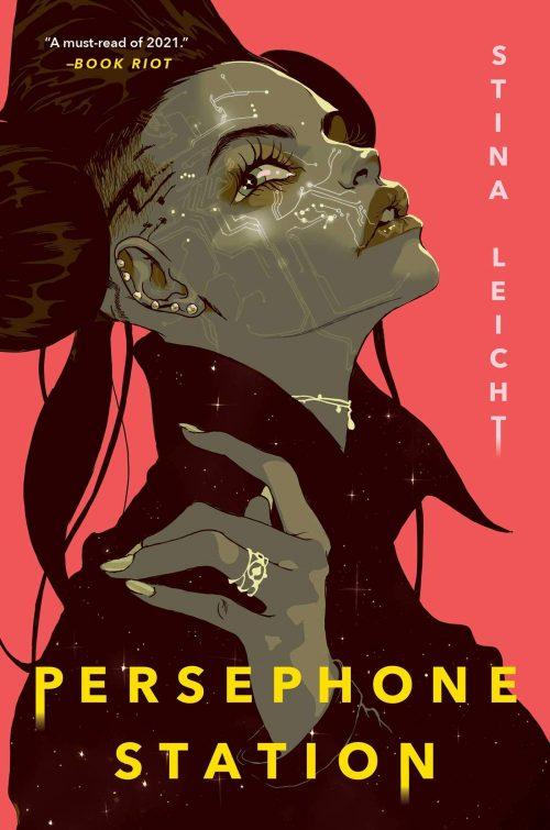 Book cover: Persephone Station - Stina Leicht