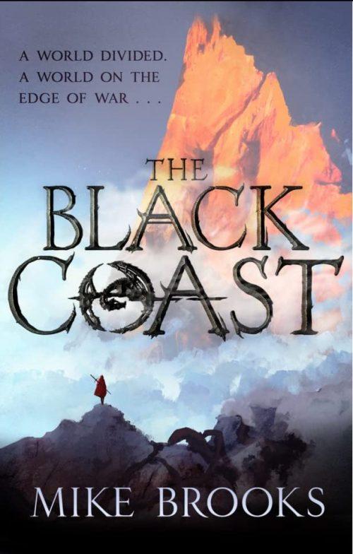 Book cover: The Black Coast - Mike Brooks (Orbit UK cover)