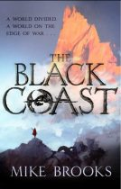 Book cover: The Black Coast - Mike Brooks (Orbit UK cover)