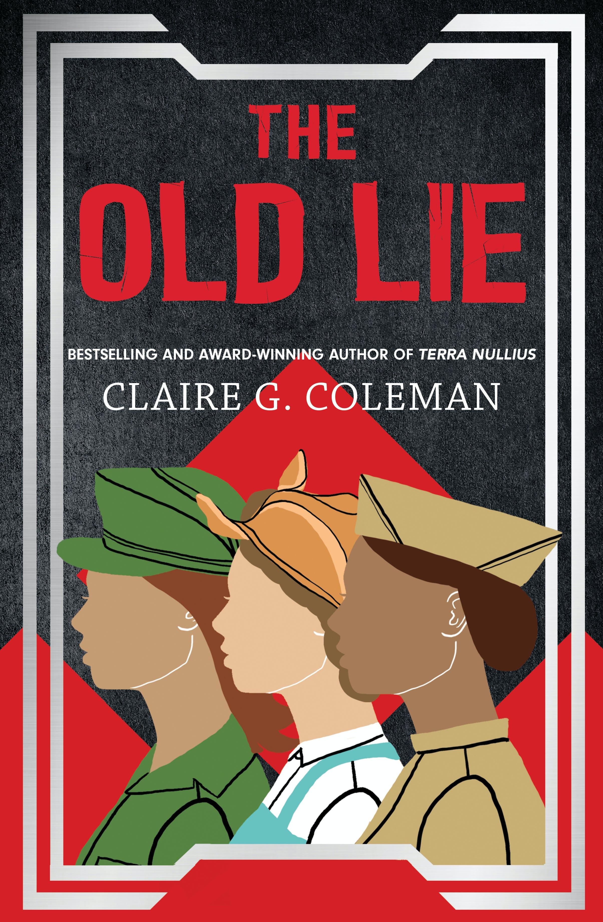 Book cover: The Old Lie - Claire G Coleman