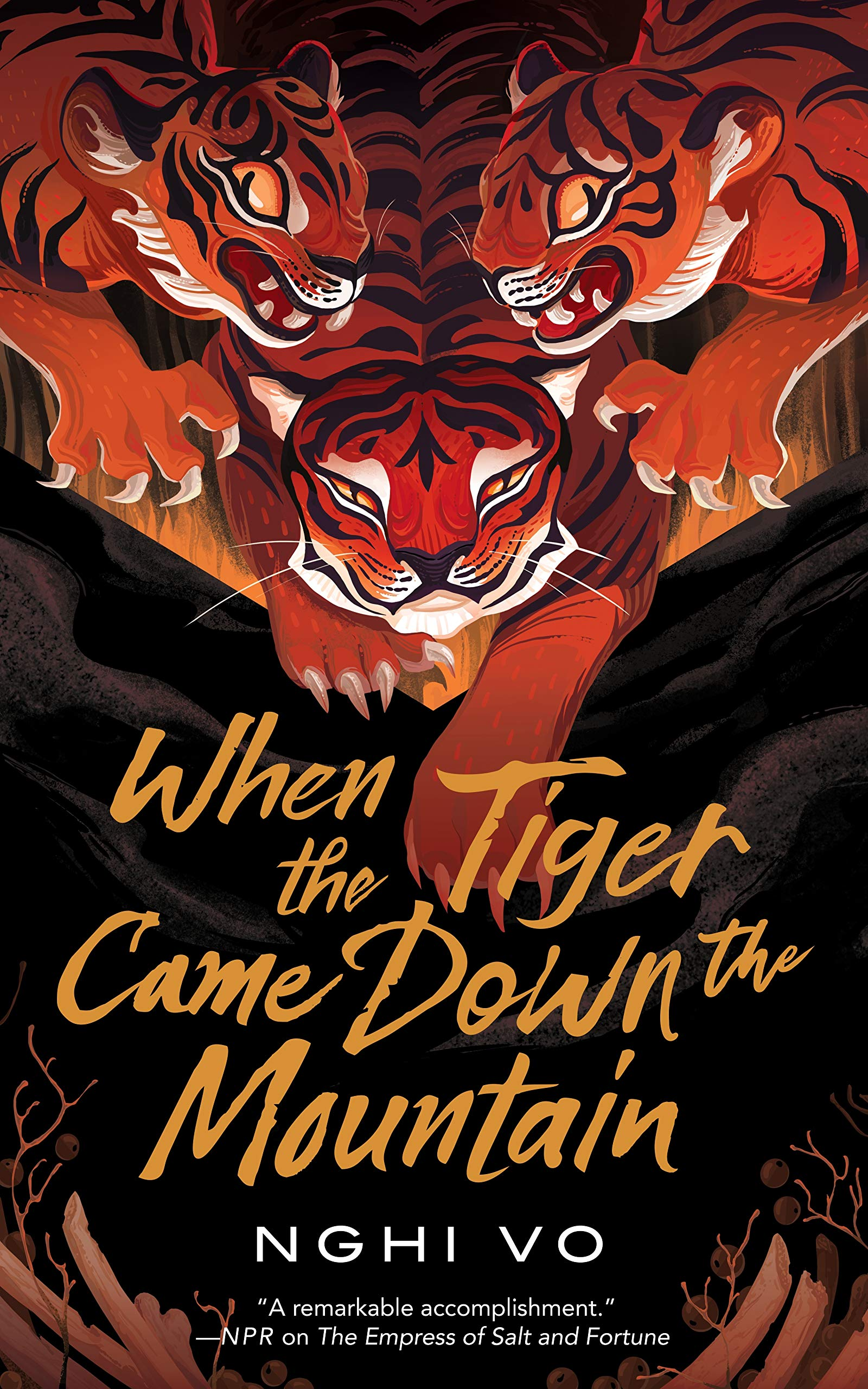 Book cover: When The Tiger Came Down The Mountain - Nghi Vo