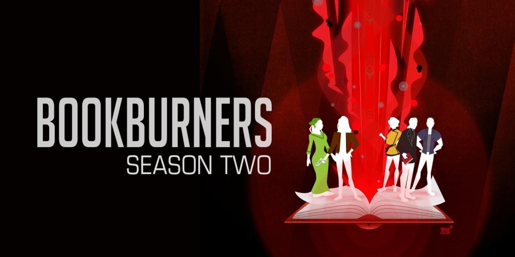 Bookburners: Season Two (stylised character art)