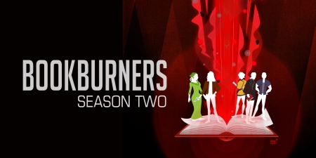 Bookburners: Season Two (stylised character art)