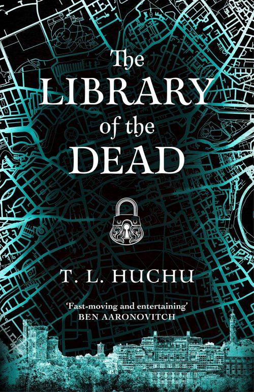 Book cover: The Library of the Dead - TL Huchu
