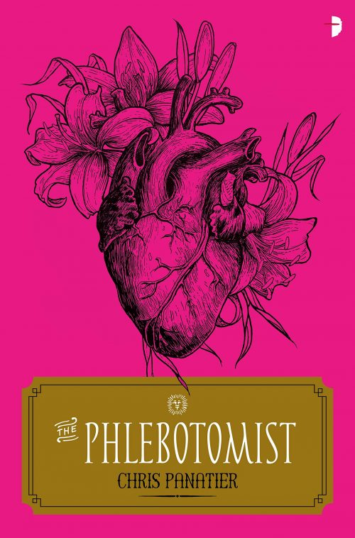 Book cover: The Phlebotomist - Chris Panatier