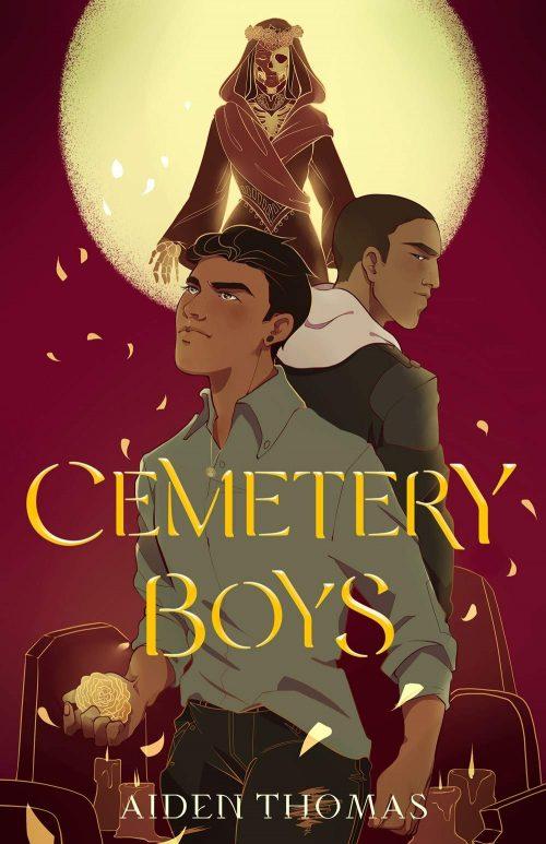 Book cover: Cemetery Boys - Aiden Thomas