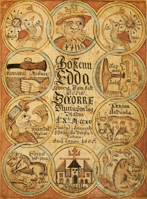 Book cover: The Prose Edda - Snorre Sturluson