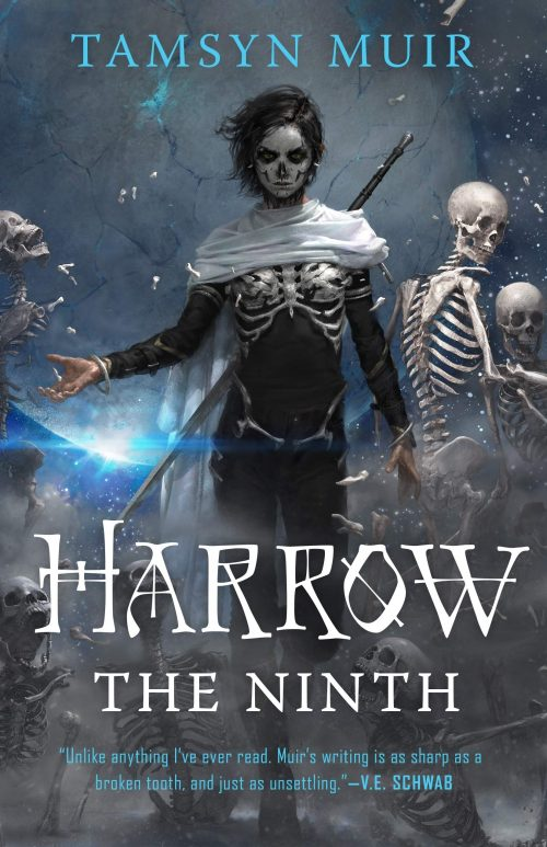 Book cover: Harrow the Ninth - Tamsyn Muir
