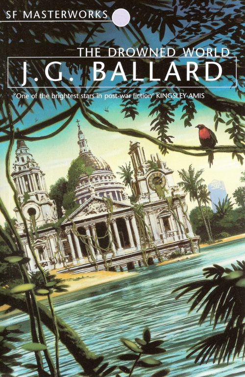 Book cover: The Drowned World - JG Ballard