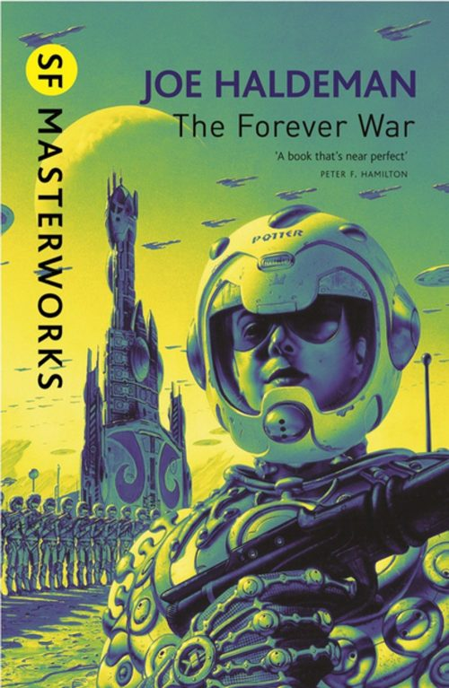Book cover: The Forever War - Joe Haldeman