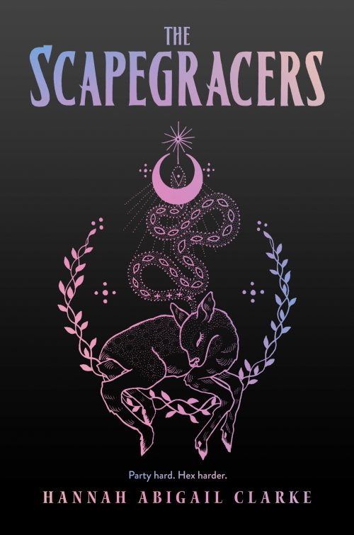 Book cover: The Scapegracers - Hannah Abigail Clarke